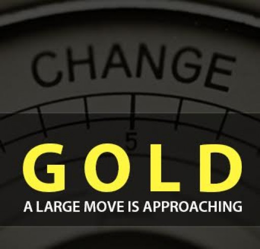 Gold - A Large Move is Approaching