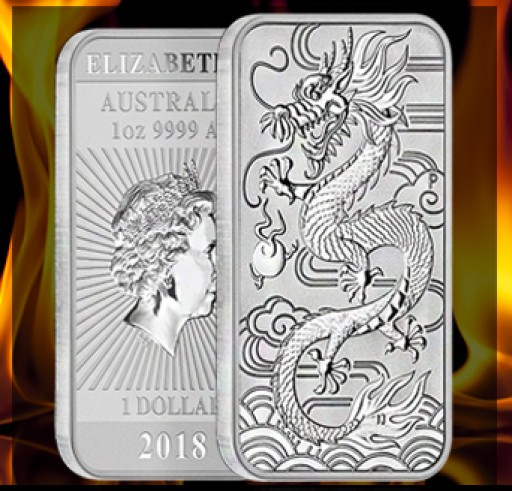 Announcing the Red-Hot Silver Dragon Coin Bar From Bullion Exchanges