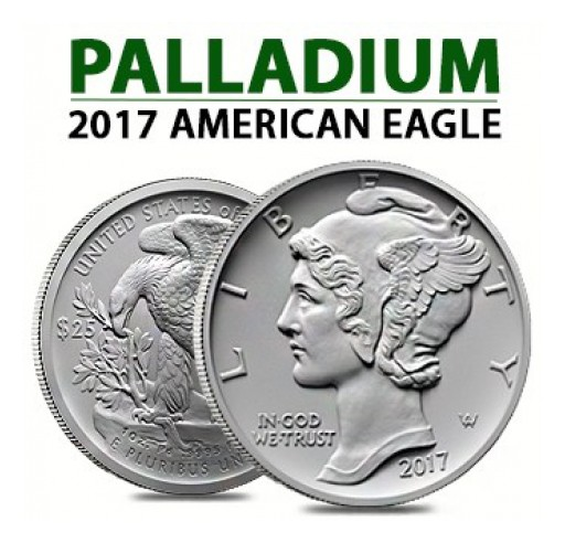 The US Mint Presents the First Ever Palladium American Eagle